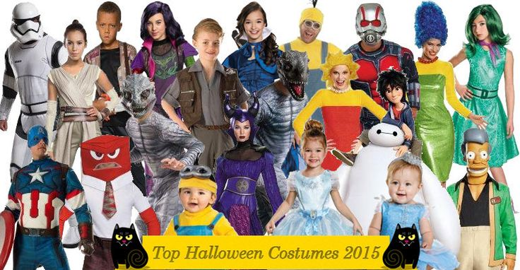 Find All Top Halloween Costumes 2015 Here! This time of year, though, you actually get to plan it, and then actually do it. Well, for one day least. Here are some great ideas for the top Halloween costumes 2015.
