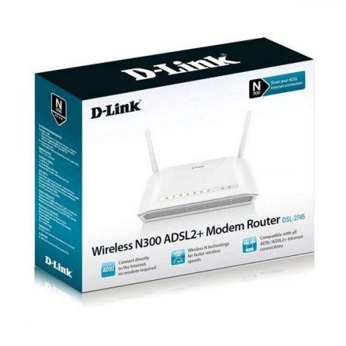 Router D-Link DSL-2745 Wifi 300 Mbps