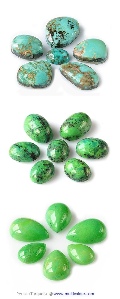 Persian ( Iranian) Turquoise. More @ www.multicolour.com and #gemstones