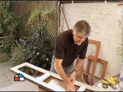 ¿Cómo reutilizar puertas y ventanas para hacer muebles? - YouTube