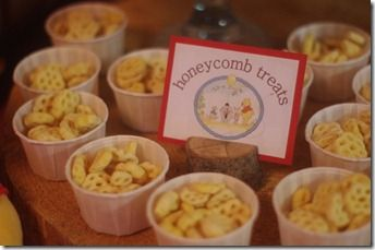 pooh honey comb party - Google Search