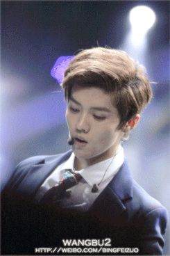 Luhan #exo (gif) || Baby hold that sexiness of yours and breath normally XD XD XD <3