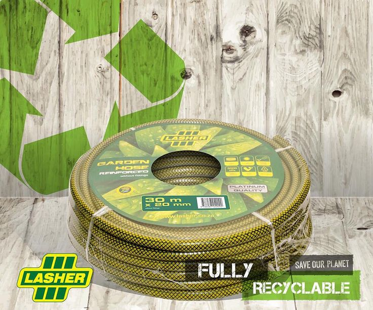 Lasher's fully recyclable hosepipe. #gardentools #recyclable #garden and #home