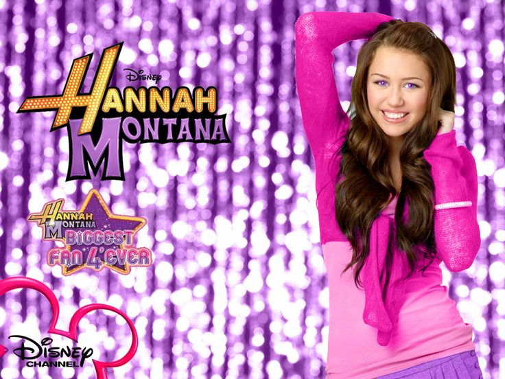 hannah montana | Hannah Montana Miley $tewart Purple Background wallpaper as a part of ...