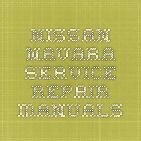 64 best nissan service repair manual pdf images on pinterest nissan navara service repair manuals fandeluxe Images
