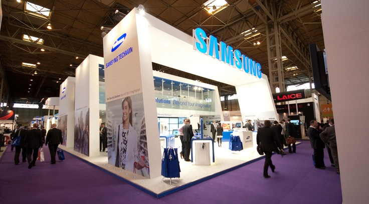 Cool Angle Exhibition Stand Design Pinterest Samsung
