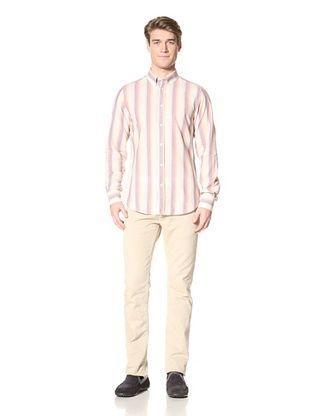 Ben Sherman Men's Long Sleeve Clerkenwell Collar Shirt