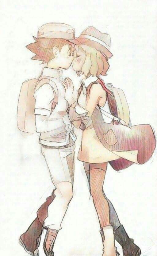 This is a beatiful Amourshipping fanart!! Congrats for who made this.