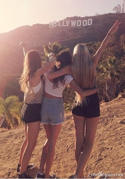 best friends hollywood California   that is what my future is going to  be like with my friends