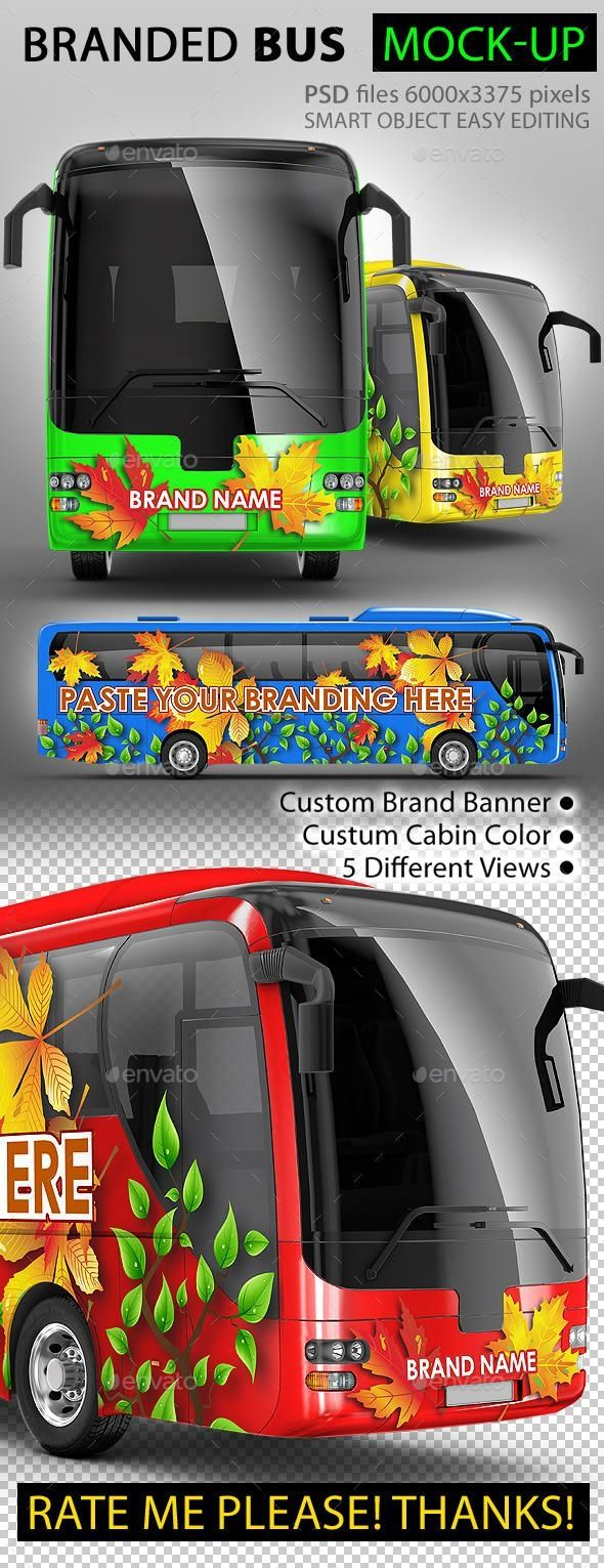 These mockups are especially useful for: Bus Coach Bus Tourist Bus Mock Up Bus Wrap Mockup Business Card Mock Up