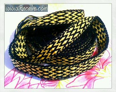 My 5th tablet woven band is finished… :D  Read more: http://www.racaire.com/2017/05/12/5th-tablet-woven-band/