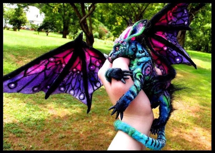 eBay Posable Hand Made Baby Dragon! by Wood-Splitter-Lee.deviantart.com