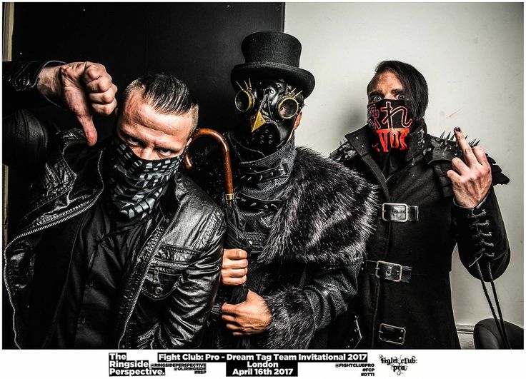 Sami Callihan, Marty Scurll and Jimmy Havoc