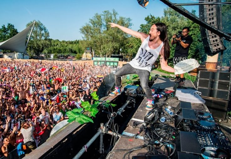 DJ Steve Aoki is well-known for throwing cake at the audience during his shows, but he didn't expected cake thrown back at him at his party.