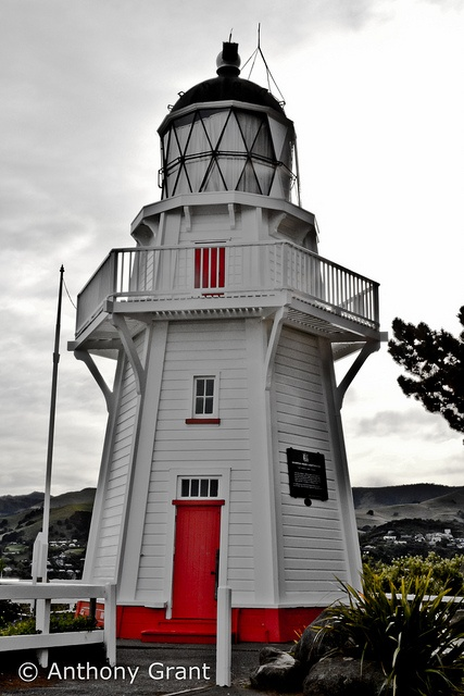 Akaroa Lighthouse by MrAnthonyGrant, via Flickr