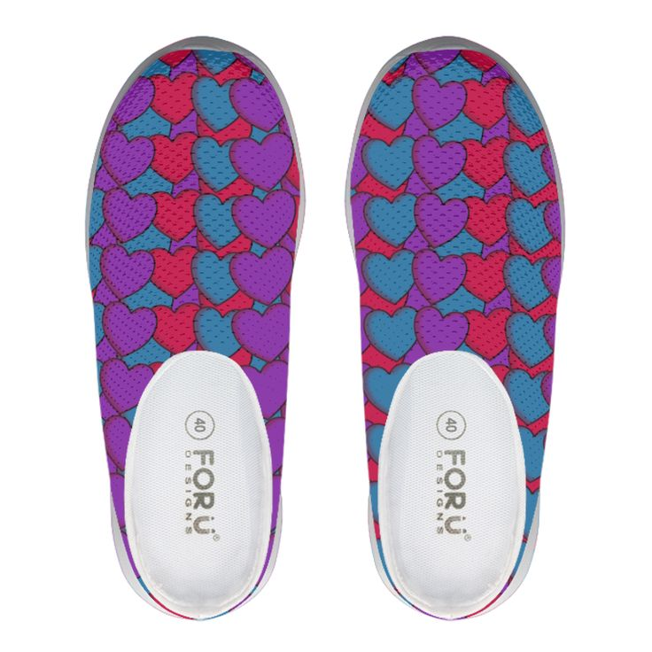 Colourful Love Heart Pattern