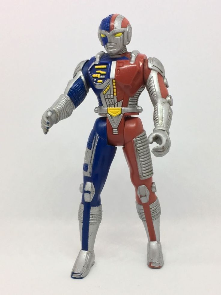"Ryan Steele VR Troopers Kenner Saban 1994 5"" Anime Action Figure Toy Robot Man #Kenner"
