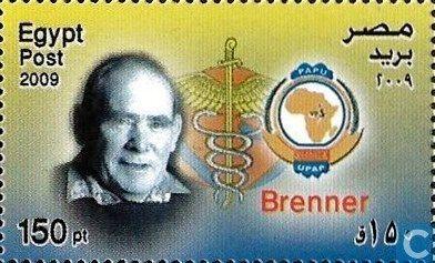 Postage Stamps - Egypt (U.A.R.) - Nobel Prize Winners