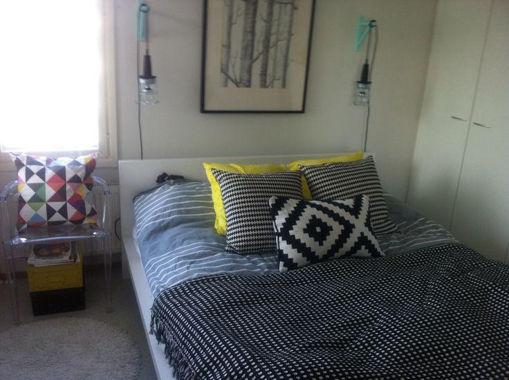 My bedroom in 2011.