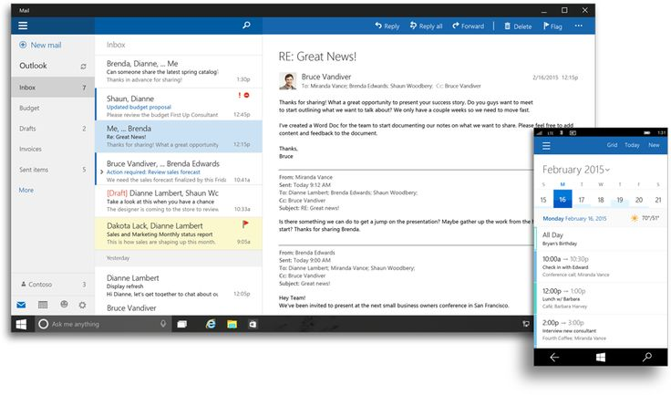Microsoft announces Office 2016 suite, touch-enabled Office for Windows 10 apps | PCWorld