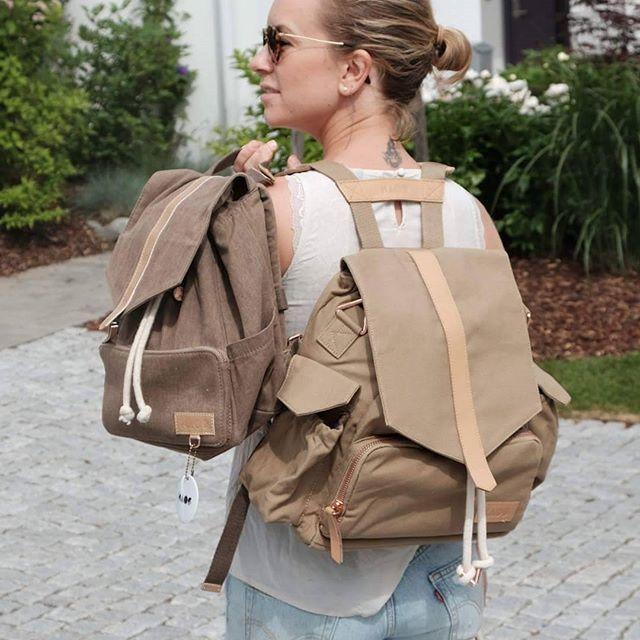One for myself and one for mini-me#kidsbackpack #barnehagesekk #diaperbag #babybag #stelleveske both from itskaos.com
