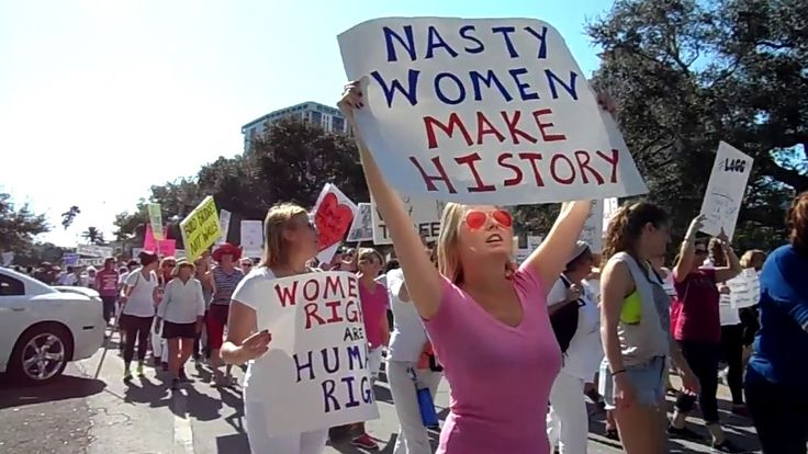 Massive Women's March St. Pete Florida: WMNF News