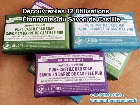 12 Utilisations du Savon de Castille Que Personne Ne Connaît.