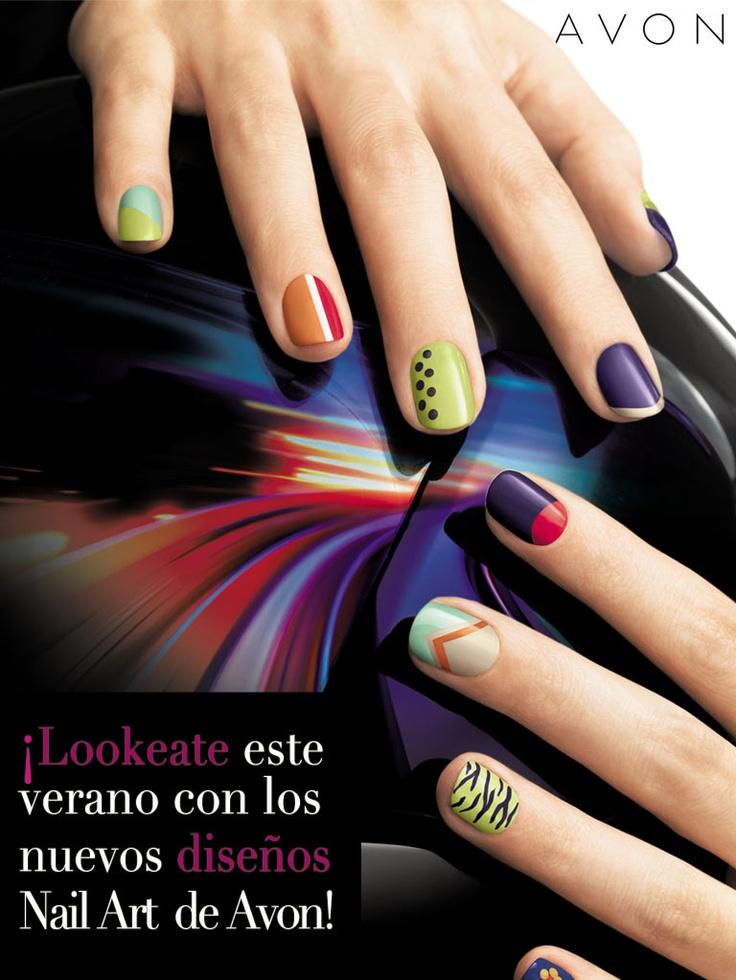 ¡Nuevos diseños #Avon para tus #uñas en este verano! #unghie