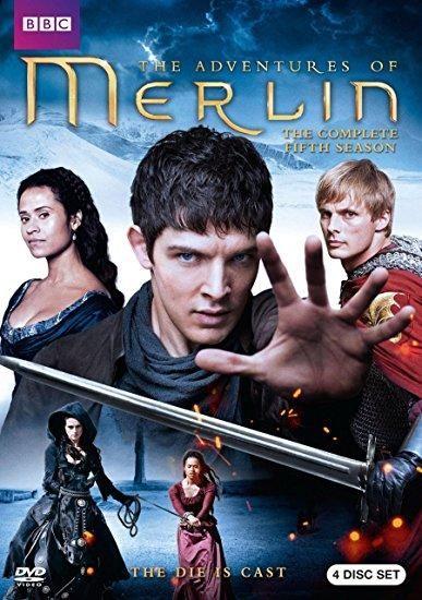Colin Morgan & Bradley James & Justin Molotnikov-Merlin: Season 5