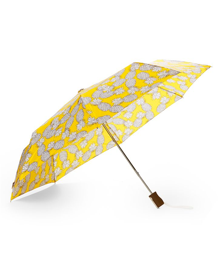 Yellow Pineapple Compact Umbrella