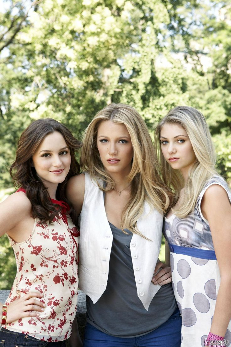 Gossip girl Blair, Serena & Jenny