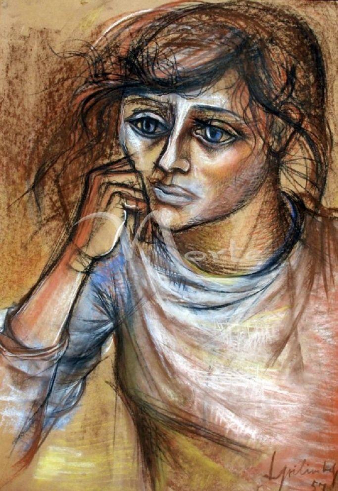 Figura de mujer : Lino Enea Spilimbergo
