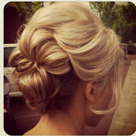 romantic, loose curls