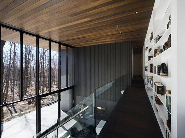 Mountain Chalet Plan In Quebec Canada Loft Interior DesignLoft
