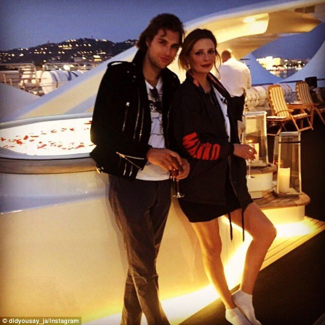 Mischa's new squeeze! Daily Mail Australia can exclusively reveal that Mischa Barton's new boyfriend is Melbourne model James Abercrombie; the son of former Victorian Liberal Party treasurer Andrew Abercrombie, who last year was reported to be worth $574m