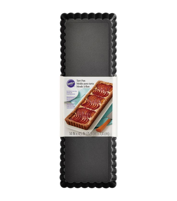 Wilton® Oblong Tart Pan-Rectangle 14inchesX4.5inches