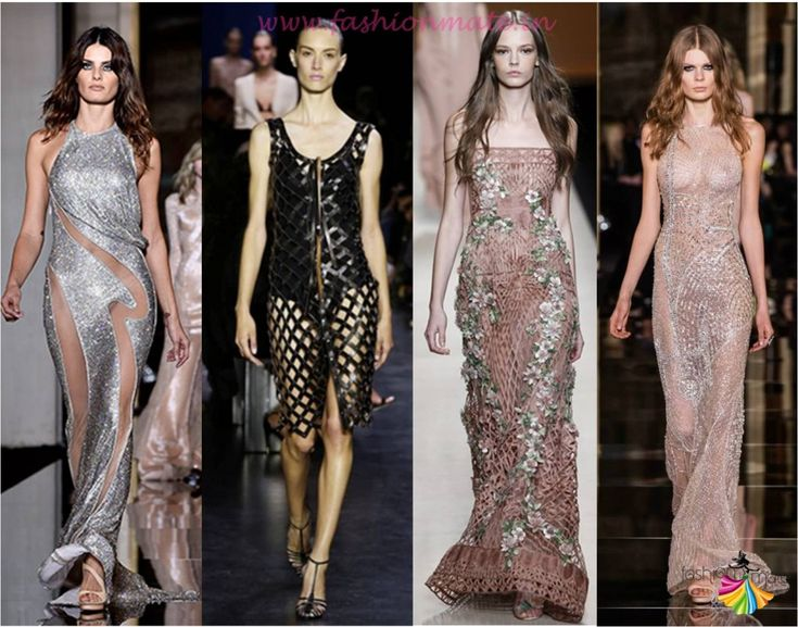 Top spring summer fashion trends 2015 - Trend report for Sheer and Mesh gown