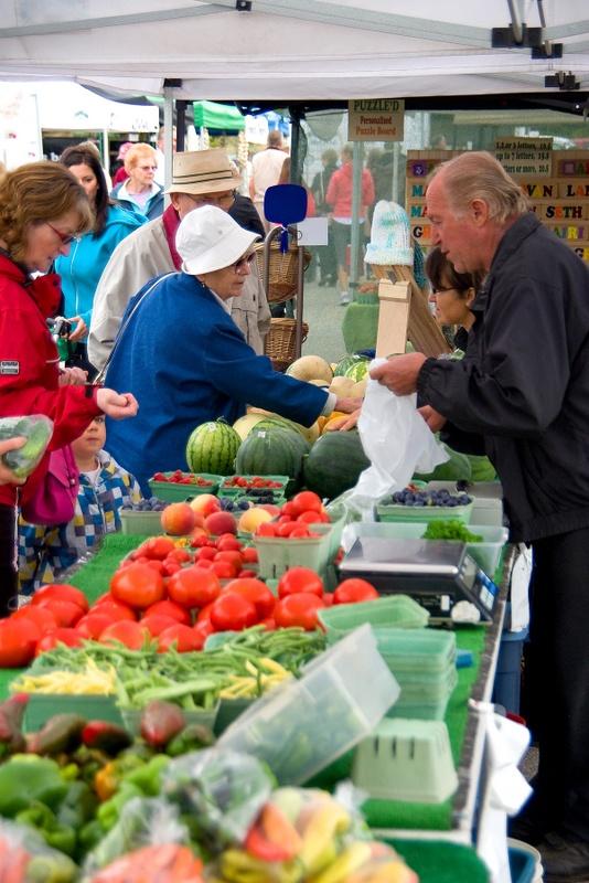 Vernon Farmers Market, Vernon, BC, Canada