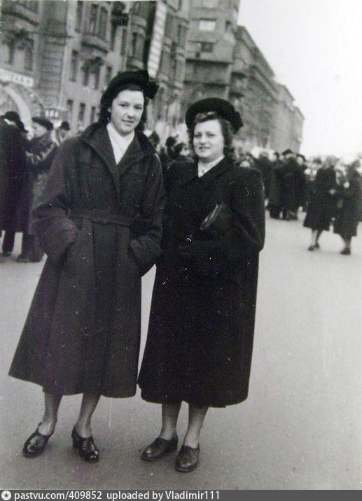 1953_58 Новослободская ул. У дома 57/65