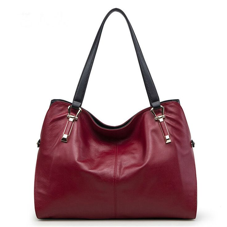 Genuine Leather Shoulder Bags //Price: $148.35 & FREE Shipping // #bag #bagsdesigns
