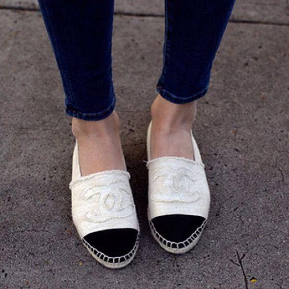 chanel espadrilles for sale ebay | Chanel Espadrilles | Pinterest ...