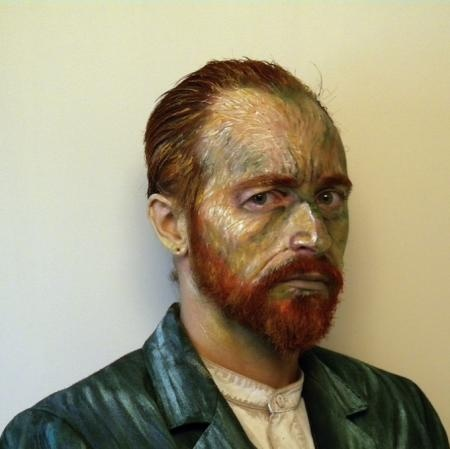 Costume based on Vincent Van Gogh Self-Portrait, James Birkbeck