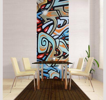 les 25 meilleures id es concernant papier peint graffiti. Black Bedroom Furniture Sets. Home Design Ideas