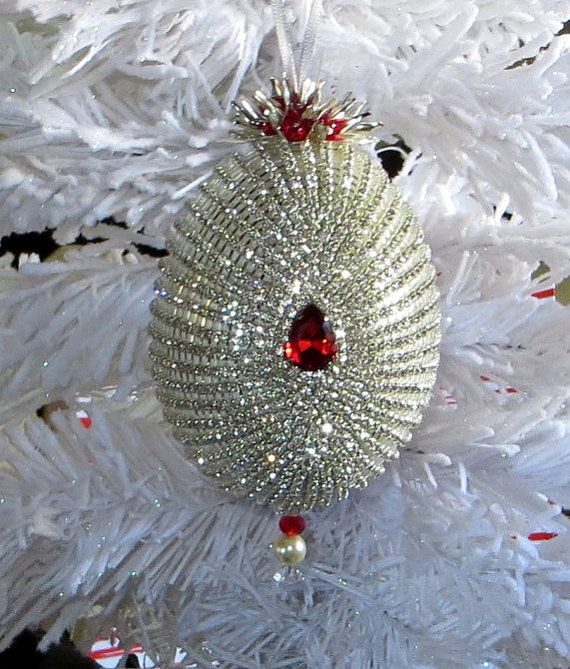 Stunning Vintage Victorian Handmade Crystals Wedding/Easter/Christmas Ornament by HolidayCrystals, $159.00