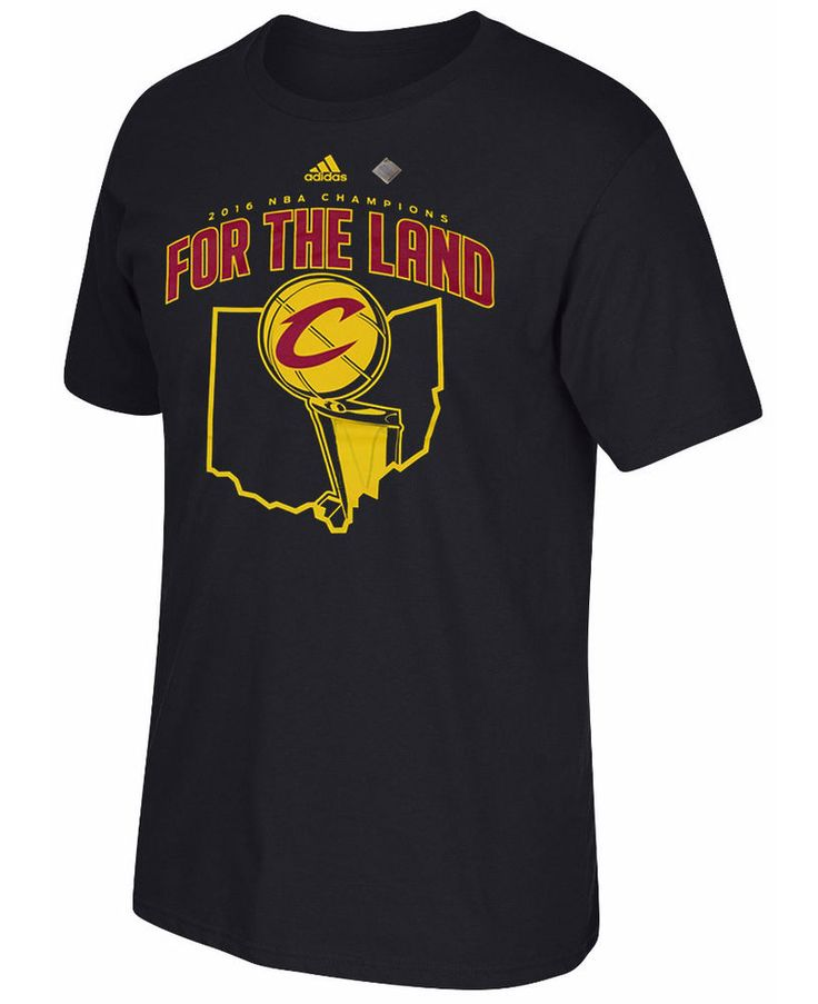 Cleveland Cavaliers For the Land 2016 NBA Champions Parade Black T Shirt XXL #adidas