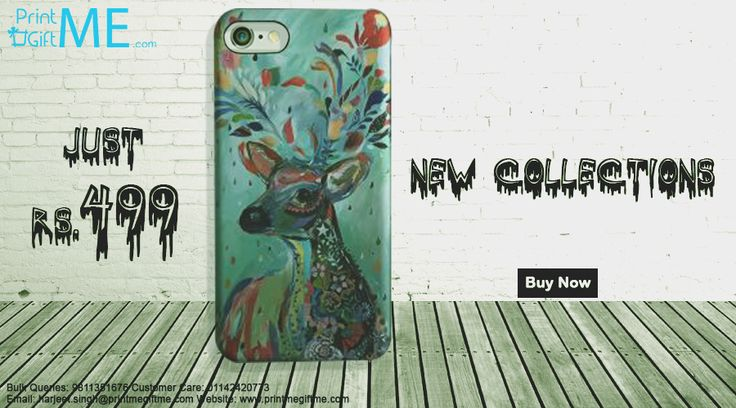 New Collection Of Deer Design First Time Available in India You can grab it Only just Rs 499/- http://printmegiftme.com/acces…/iphone-cover/iphone-six-plus