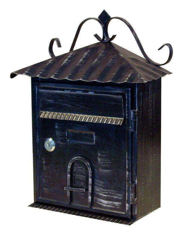 Vintage Locking Wall Mounted Mailbox Wall Mount Mailbox Mounted Mailbox Fine Art Lighting