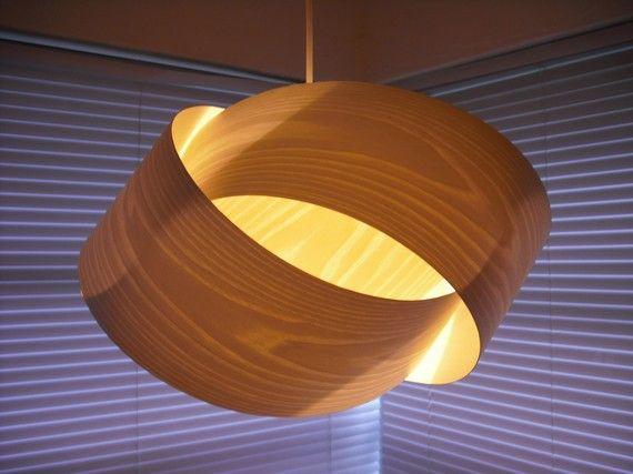wood veneer lighting. transfigure on etsy wood veneer lighting