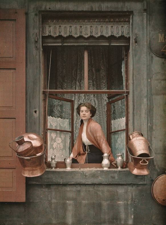 Autochrome photos from the early 1900's from around the world to document cultural diversity - these are great!!!