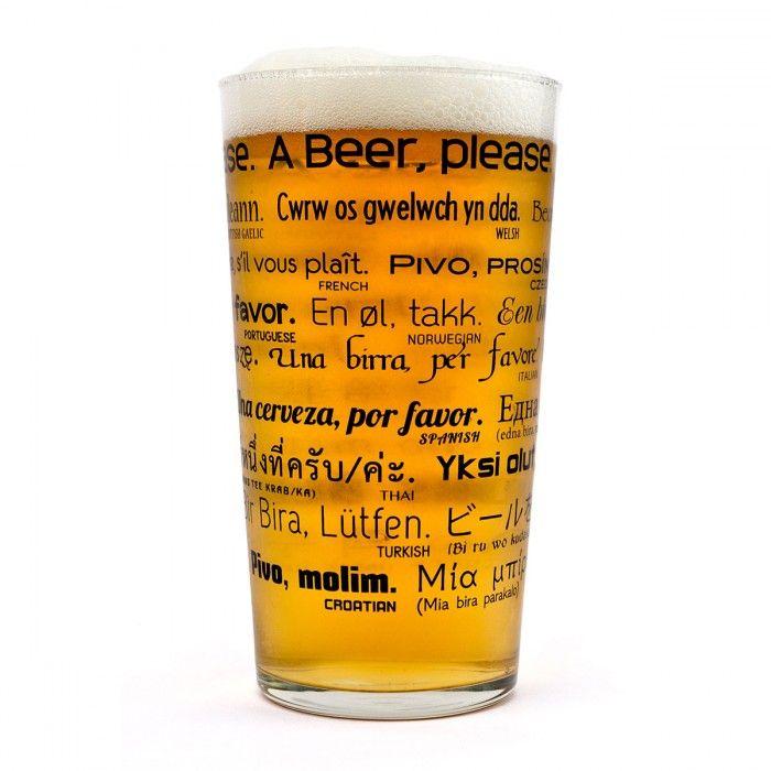 🌟NEW🌟  En cette St Patrick, nous vous proposons aujourd'hui le verre à #bière multilingue ! Quand on peut apprendre à l' #apéro...  Dispo ici 12.90€ ➡ http://ow.ly/U9PI309ZPtQ